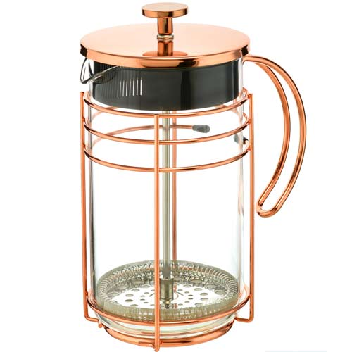 French Press: Rose Gold Madrid Wholesale USA- 1000Ml/34 Fl. Oz - Package Of 4 - French Press