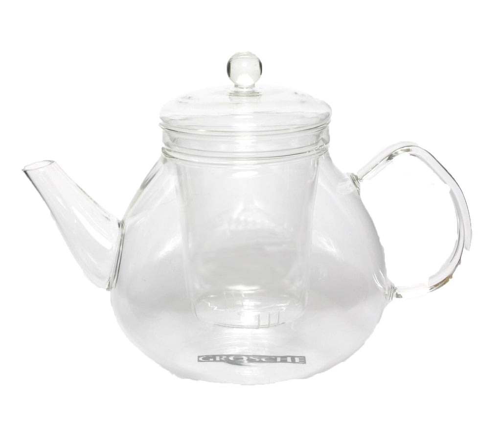 Infuser Teapot: Grosche Glasgow - 1000 Ml/34 Fl. Oz - Package Of 2 - Teapot