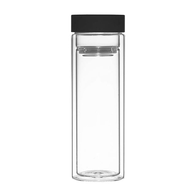Fruit & Tea Infuser: Montréal - Black 400Ml/13.5 Fl. Oz - Package Of 4 - Water Infuser