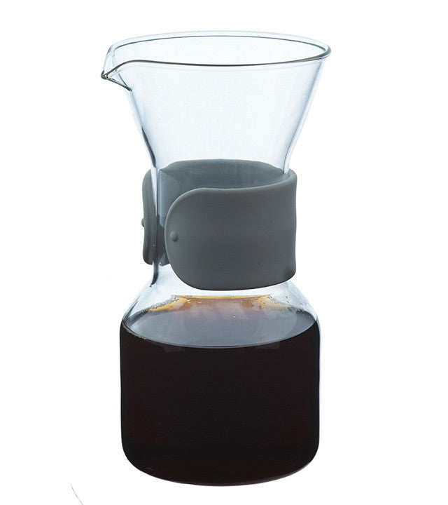 Coffee Dripper: Grosche Seattle Pour Over Coffee Maker - Grey Sleeve 600Ml/20 Fl. Oz - Package Of 4 - Coffee Dripper