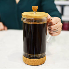French Press: GROSCHE Melbourne - 1000ml/34 fl. oz/8 cup - Package of 2