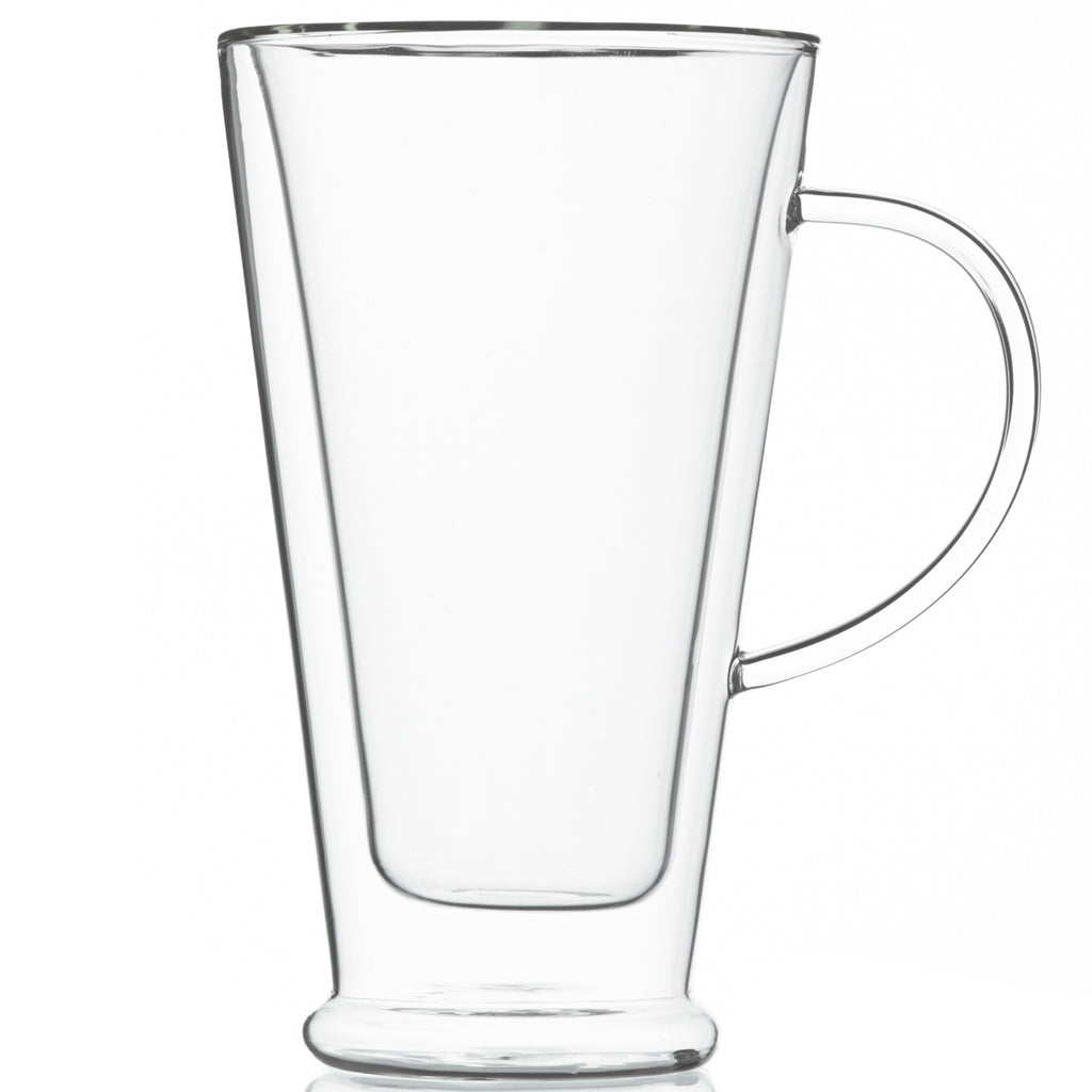 Glassware: Double Walled Verona Mug - 500Ml/16 Fl. Oz - Package Of 4 - Double Walled Glassware