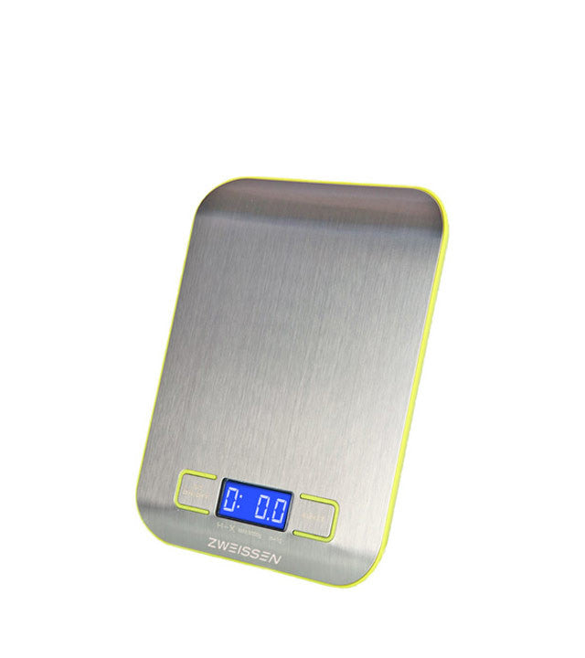 Digital Scale: Zweissen Aprilia - Green 11Lb Capacity - Package Of 4 - Digital Kitchen Scale