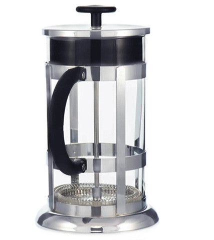 French Press: Chrome - 350Ml/11.8 Fl. Oz/3 Cup - Package Of 4 - French Press