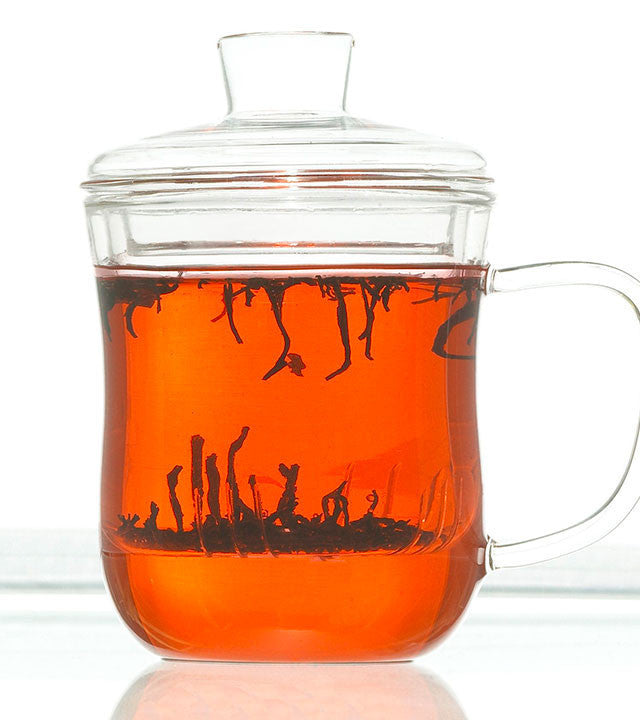 Infuser Tea Mug: Kent - 350Ml/11.8 Fl. Oz - Package Of 4 - Infuser Tea Mug