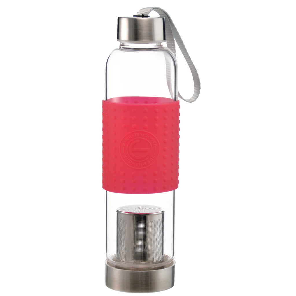 Fruit & Tea Infuser: Grosche Marino - Red 550Ml/18.6 Fl. Oz - Package Of 4 - Water Infuser