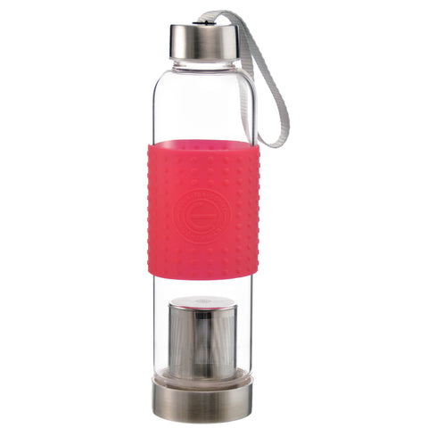 Fruit & Tea Infuser: GROSCHE Marino - Red, 550ml/18.6 fl. oz - Package of 4