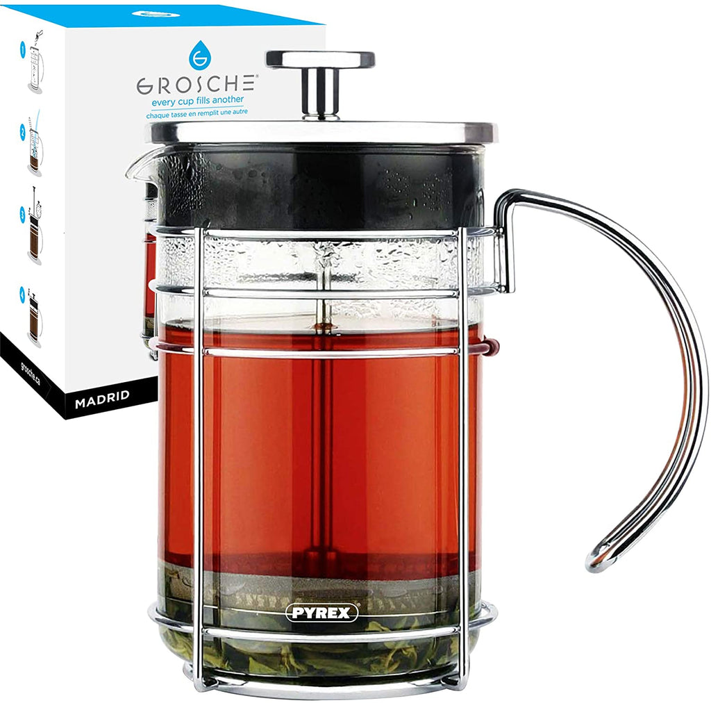 French Press: Madrid - 1000ml/34 fl. oz - Package of 4