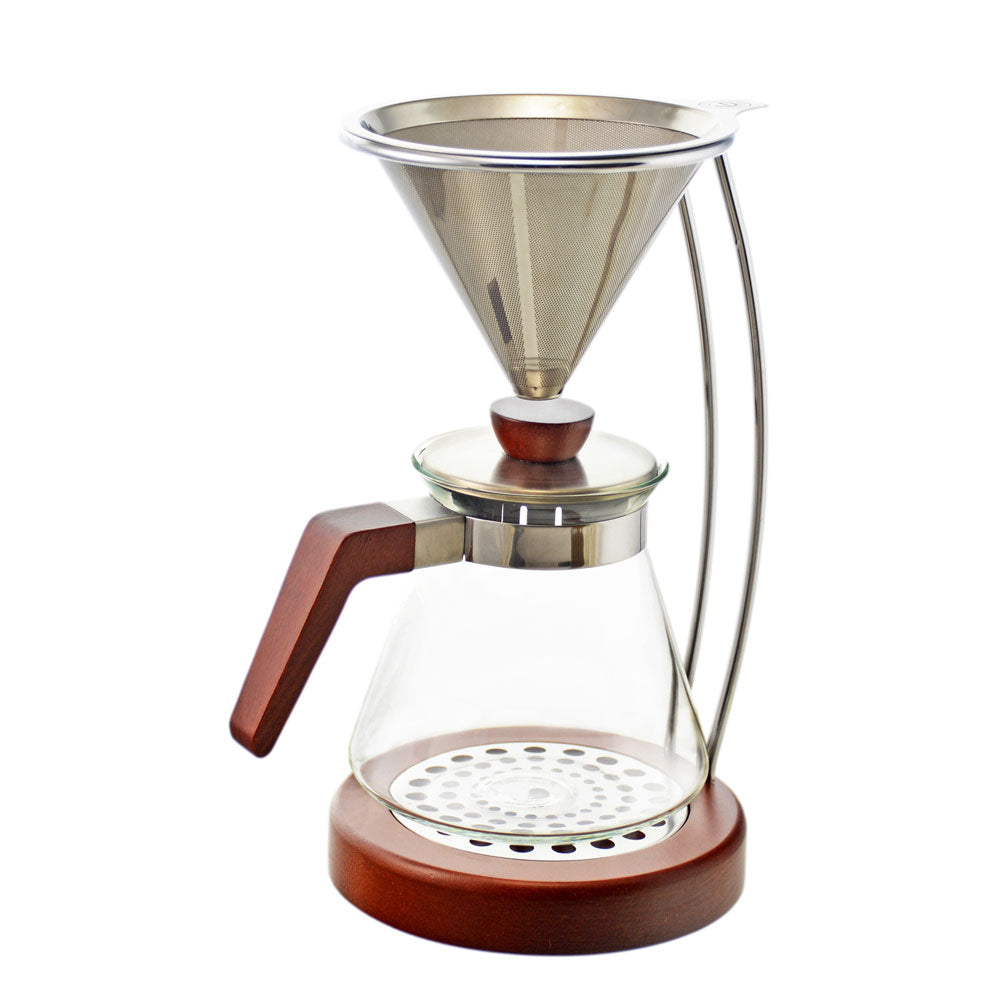 Pour Over Coffee Maker: Frankfurt, 600ml/20.3 fl. oz - Package of 2