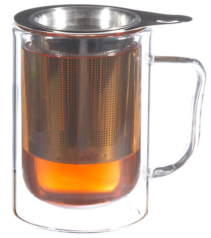 Infuser Tea Mug: Prague - 300ml/10 fl. oz- Package of 4