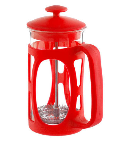 French Press: Basel Red | 800 Ml | Pack Of 4 - French Press