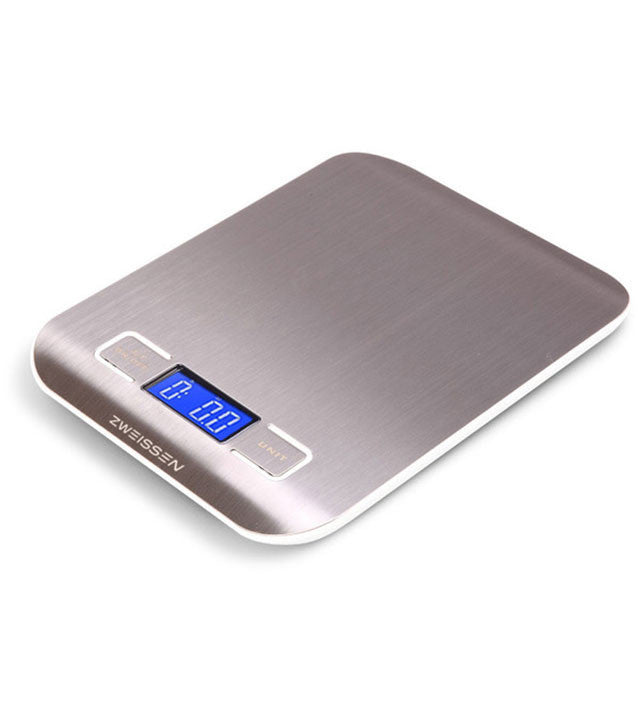 Digital Scale: Zweissen Aprilia - White 11Lb Capacity - Package Of 4 - Digital Kitchen Scale