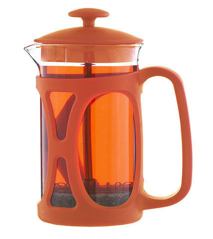 French Press: BASEL Orange | 800 ml | Pack of 4