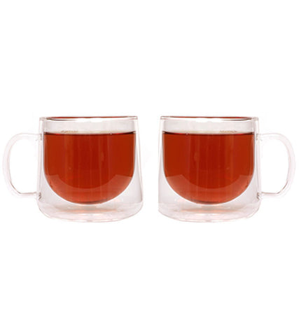 Glassware: Double Walled Berlin Mug - 2 x 350ml/11.8 fl. oz - Package of 4 sets