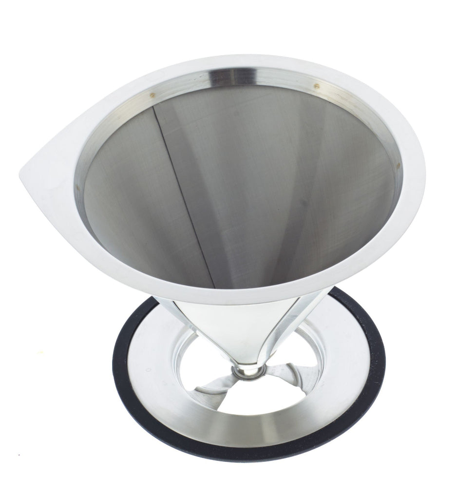 Coffee Dripper: Grosche Ultramesh Pour Over Coffee Dripper 1-4 Cup - Package Of 2 - Coffee Dripper