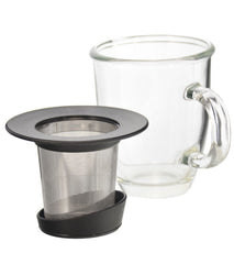 Infuser Tea Mug: GROSCHE Aspen - 400ml/13.5 fl. oz - Package of 2