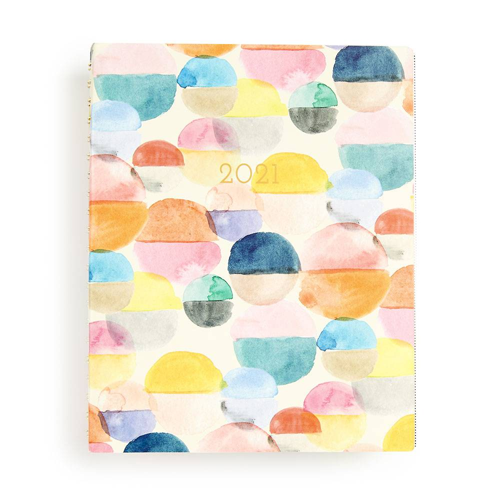 Agenda Planner 13-Month Large Meridian 2020-2021