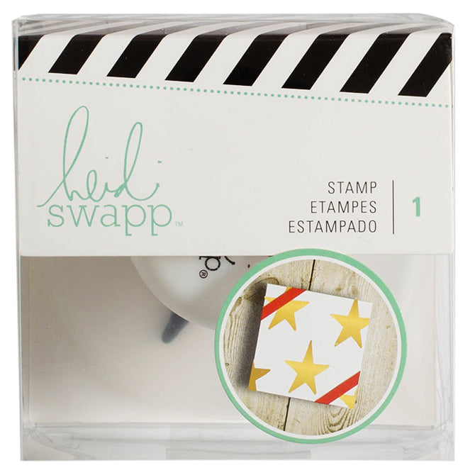 Timbre HS Giftwrapping Stamp Star