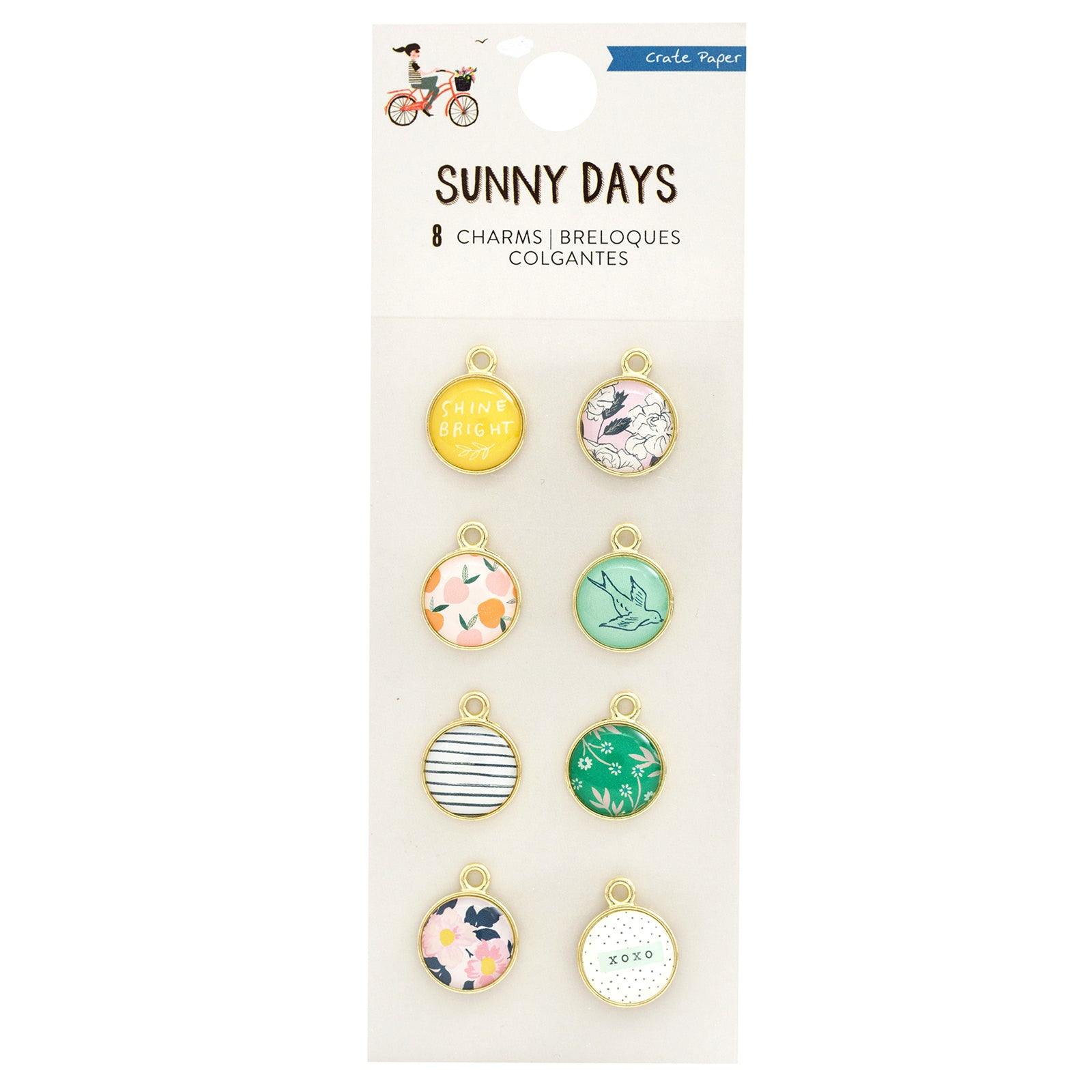 Dd Cp Mh Sunny Days Charms (8 pieces)