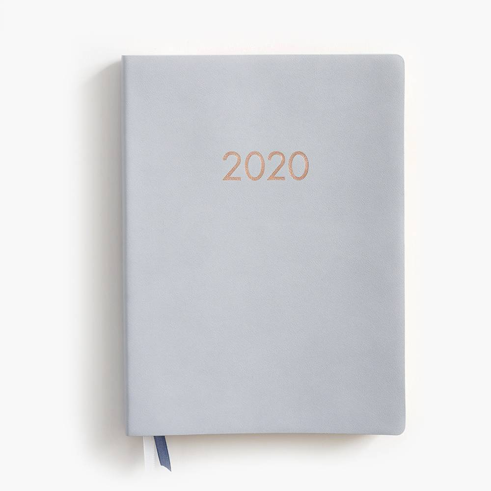 Planner Large Dove Grey 17-Month 2019-2020