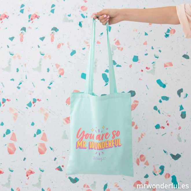 Tote bag - You are so Mr. Wonderful