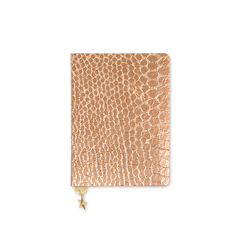 All That Glitters - A6 Notebook - Croc - R