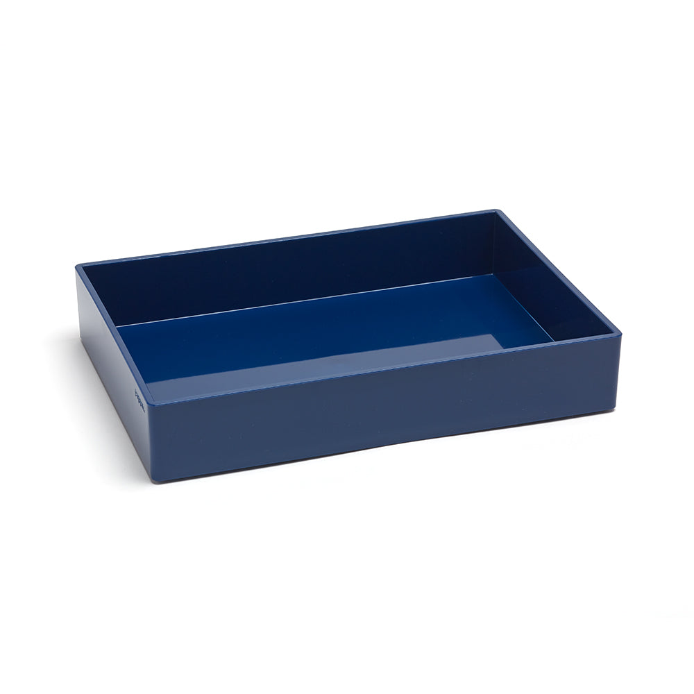 Navy Medium Accessory Tray