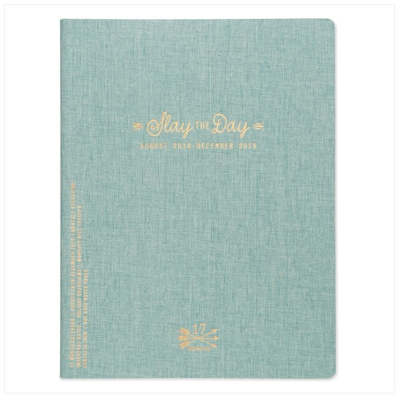 Planner Mensual 8.5x11 - SLAY THE DAY (SEAFOAM GREEN)