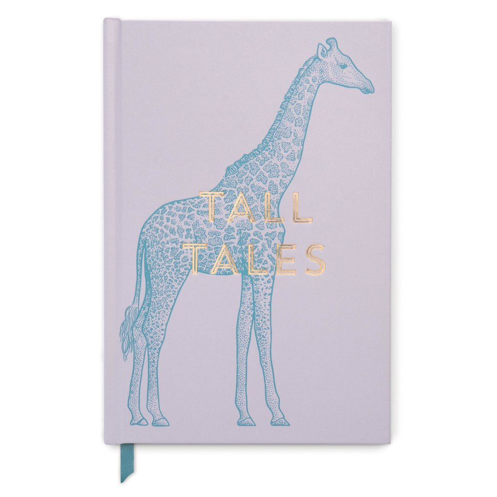Giraffe Tall Tales Vintage Sass - Soft Touch Hardcover Book Bound