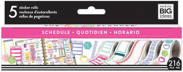 Scheduling Sticker Roll