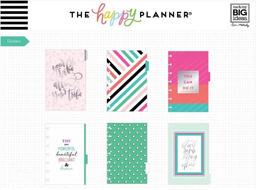 Extensión Mini Happy Planner Rainbow