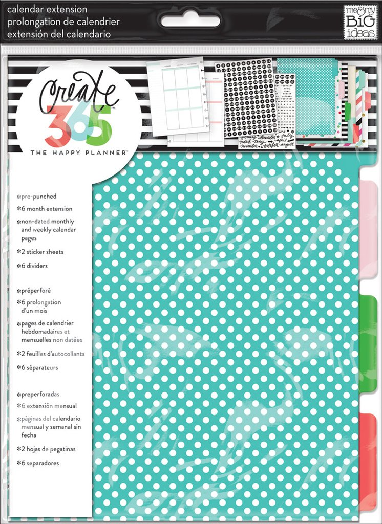 Extensión 6 meses Monthly Sunshine Happy Planner Clásica