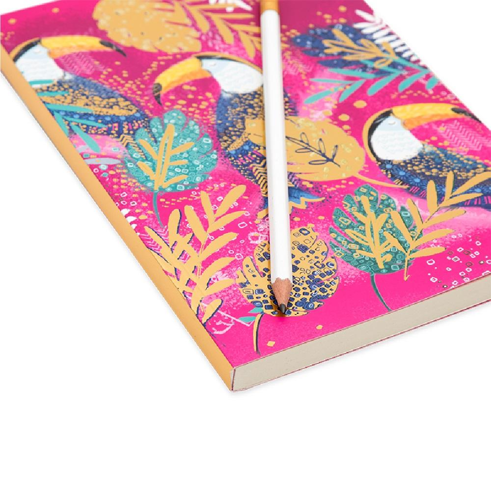 Opium-A5 Notebook-Toucan
