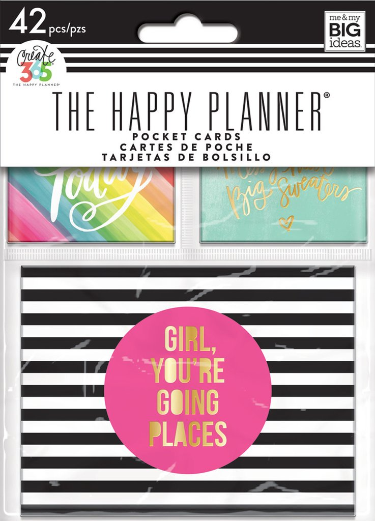 PLN Mini Planner Pocket Cards