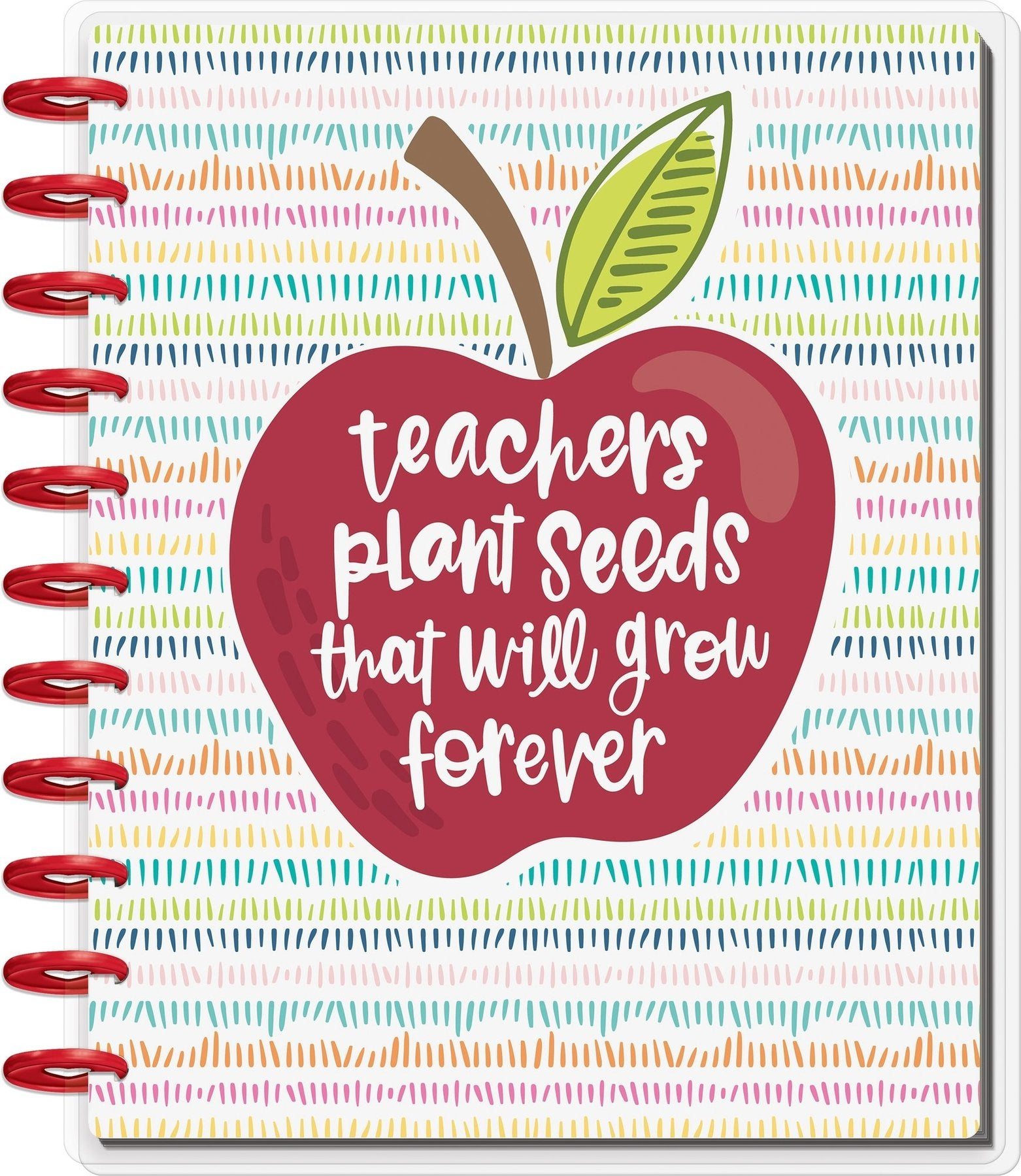 BIG Happy Planner® - Teacher's Plant Seeds - 12 Meses Sin Fecha