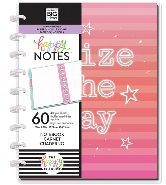 Libreta Classic Happy Notes™ - Neon Lights