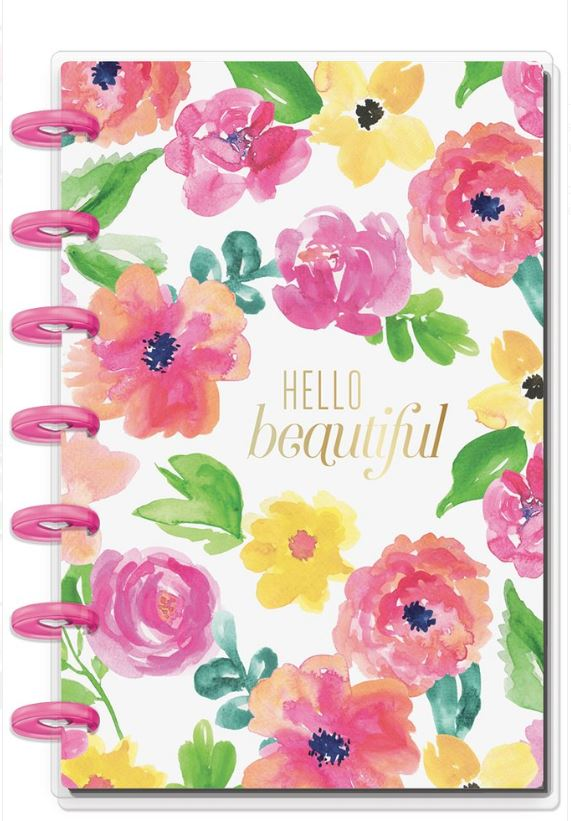 Libreta Mini Happy Planner Floral Hello