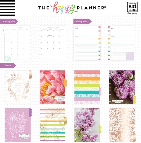 Agenda Happy Planner Clásica - Grow Your Own Way - 18 Months (2019-2020)
