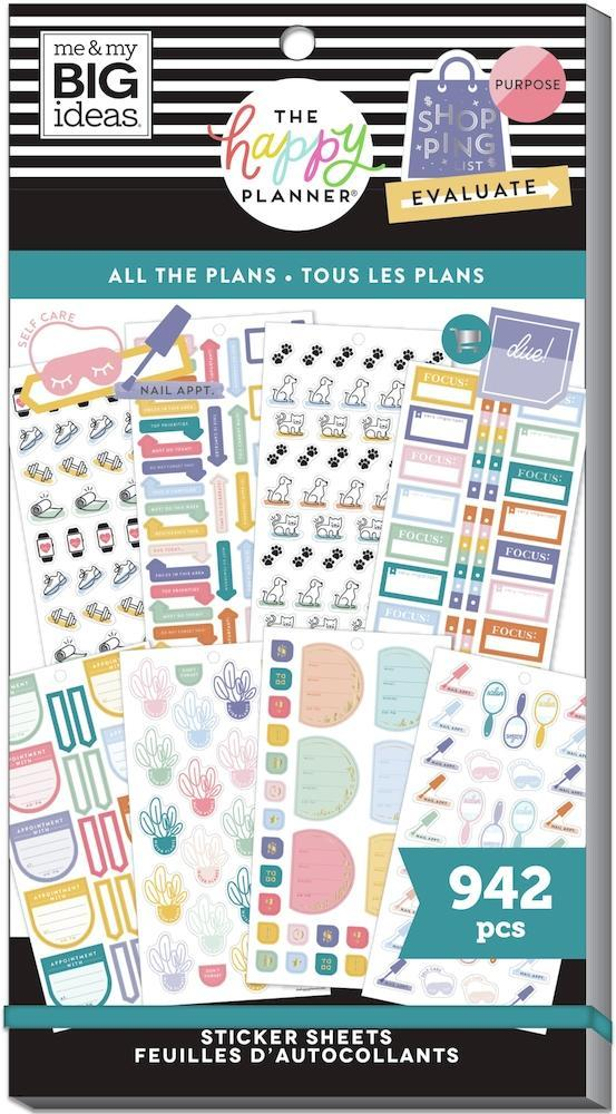 Pack Stickers - All The Plans