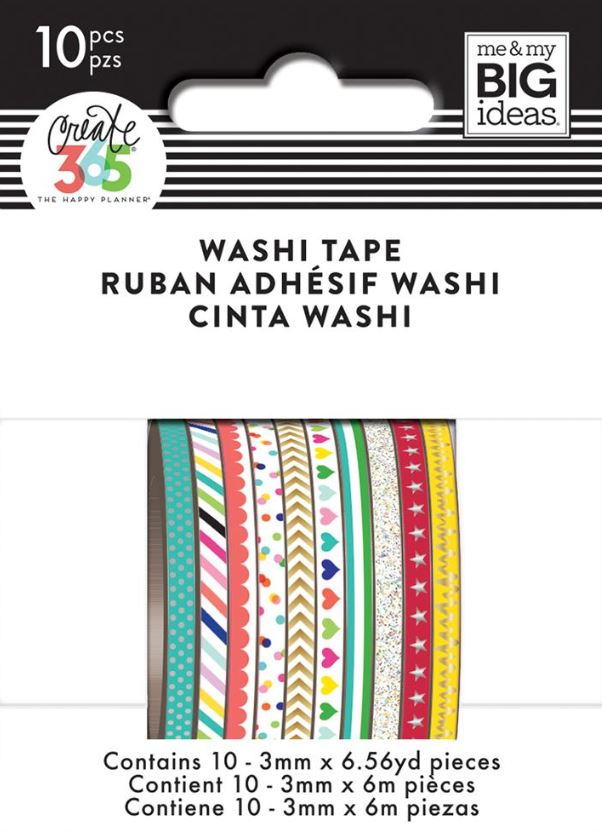 Brights Mini Washi