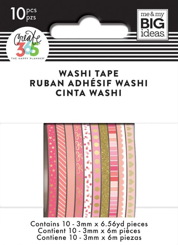 Pink Hues Mini Washi