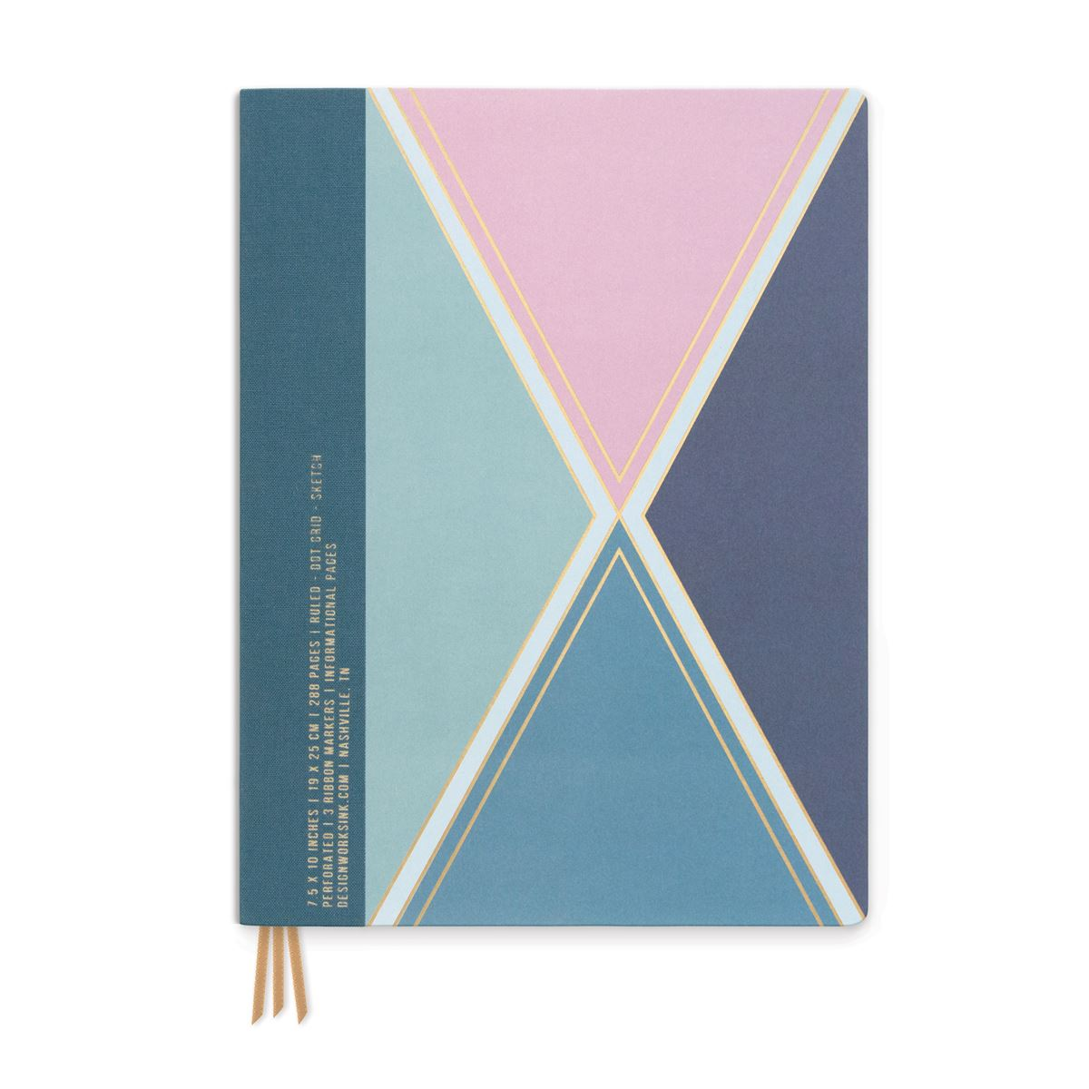 Project Planner - Jewel Harlequin - Bookcloth Spine Flex