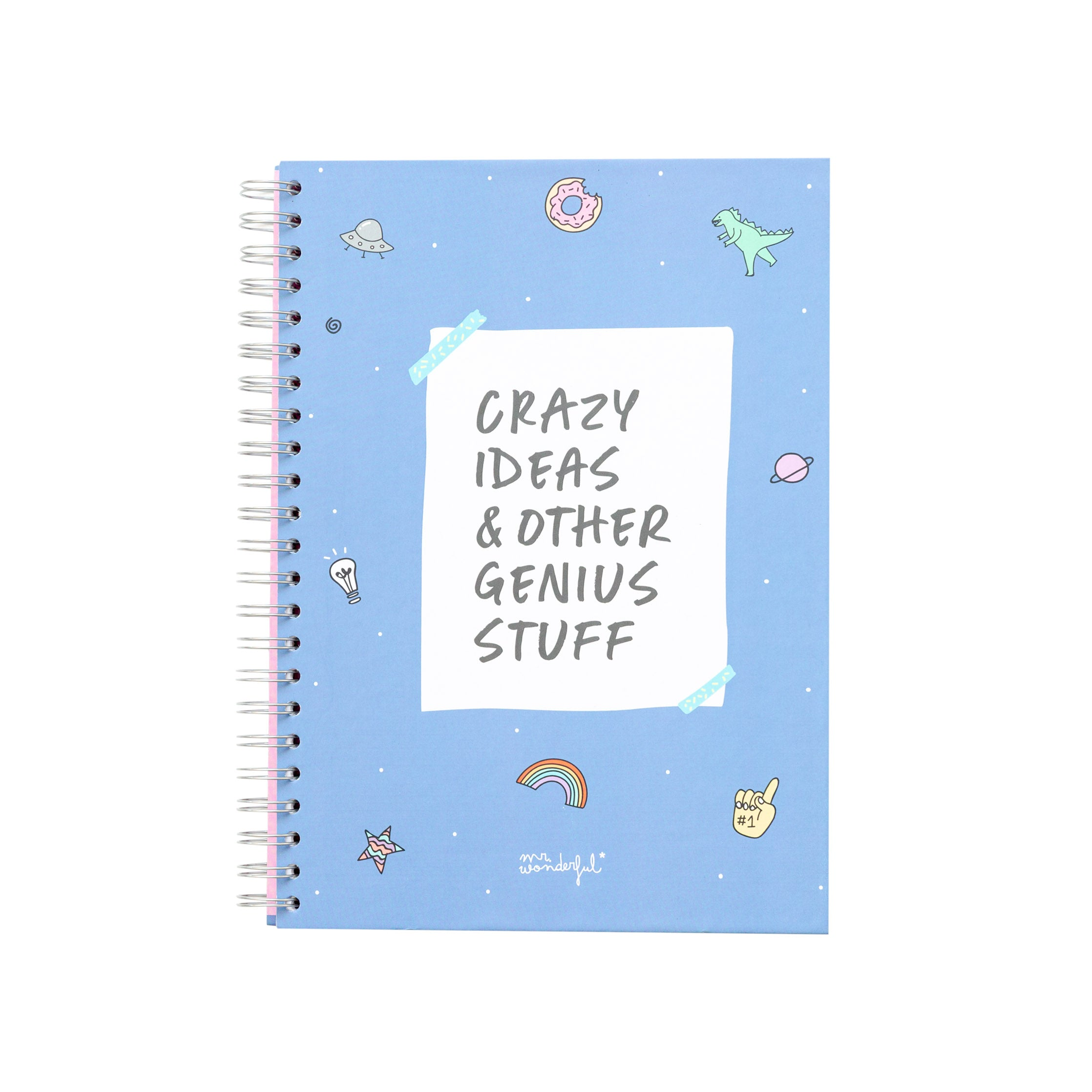 Libreta A4 Crazy ideas and other genius stuff