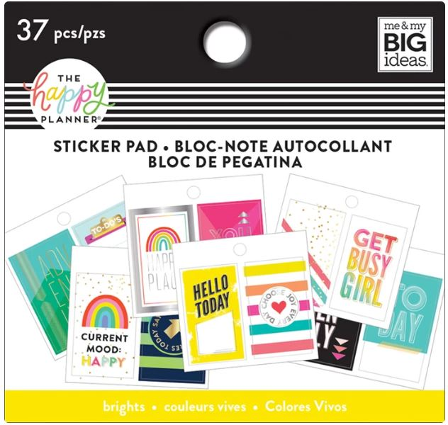 Happy Brights - Tiny Sticker Pad