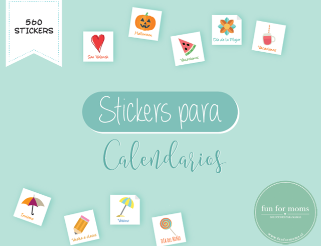 Stickers Calendarios