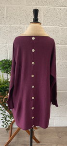 Long Button Back Jumper