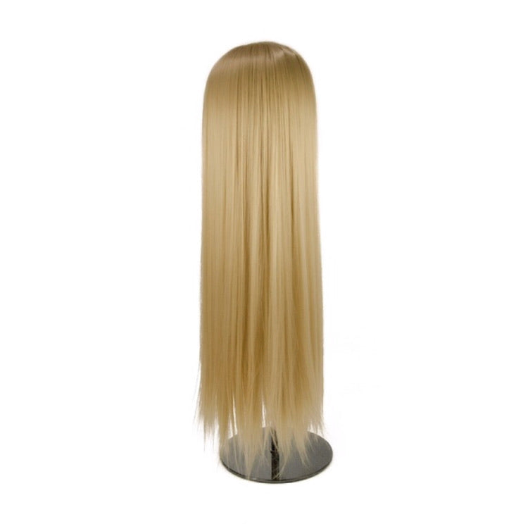 26inch 8pcs Blonde clip in hair extensions straight natural synthetic hair for women