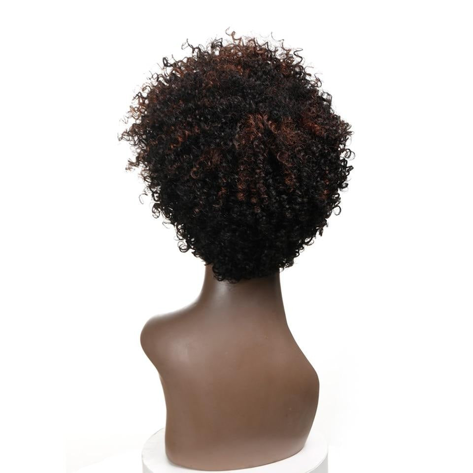 Cheap Short Bob Kinky Curly Wigs