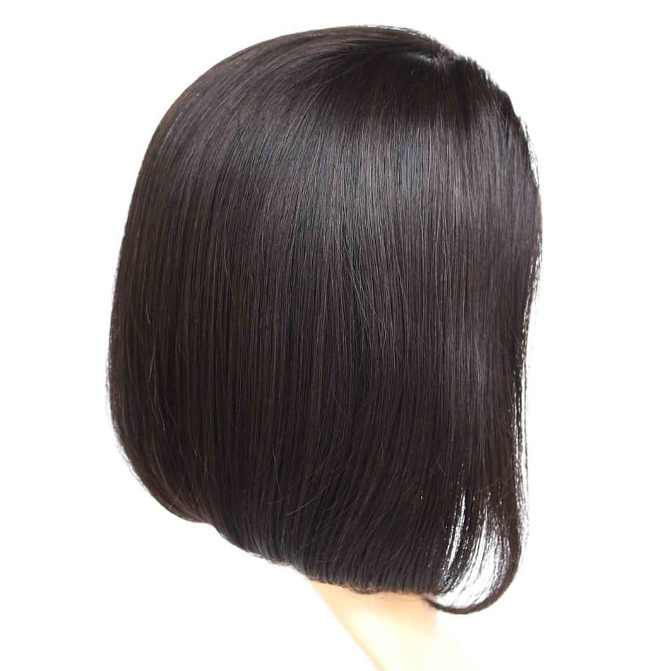 Short Lace Front Human Hair Wigs