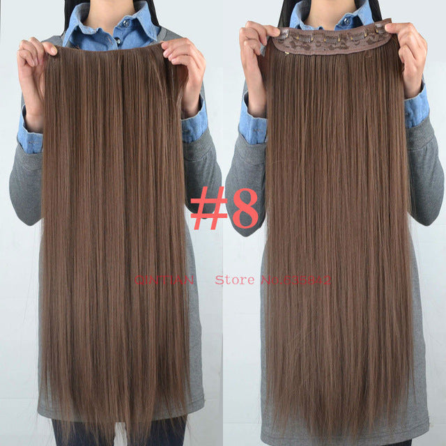 Synthetic Hair Extension Clip In